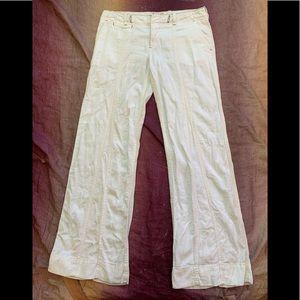 Free People Linen Blend Pants